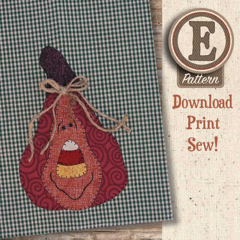 (TWB-EP09)   E-pattern P09 Gourdy Patternlet
