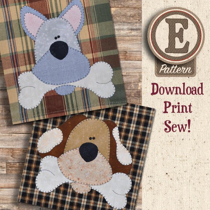 (TWB-EP20)   E-pattern P20 Dog Bone Patternlet