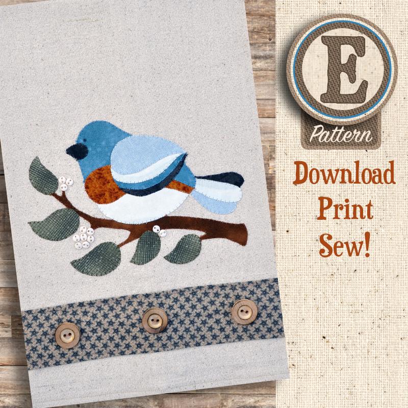 (TWB-EP24)   E-pattern P24 Bluebird Patternlet