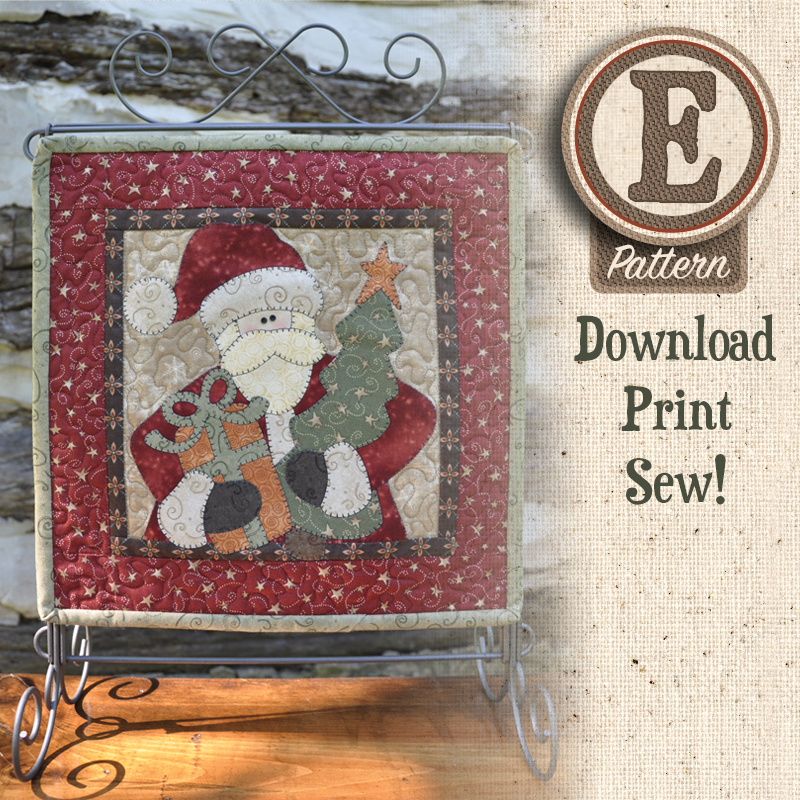 (TWB-ES17)   E-pattern S17 December Santa