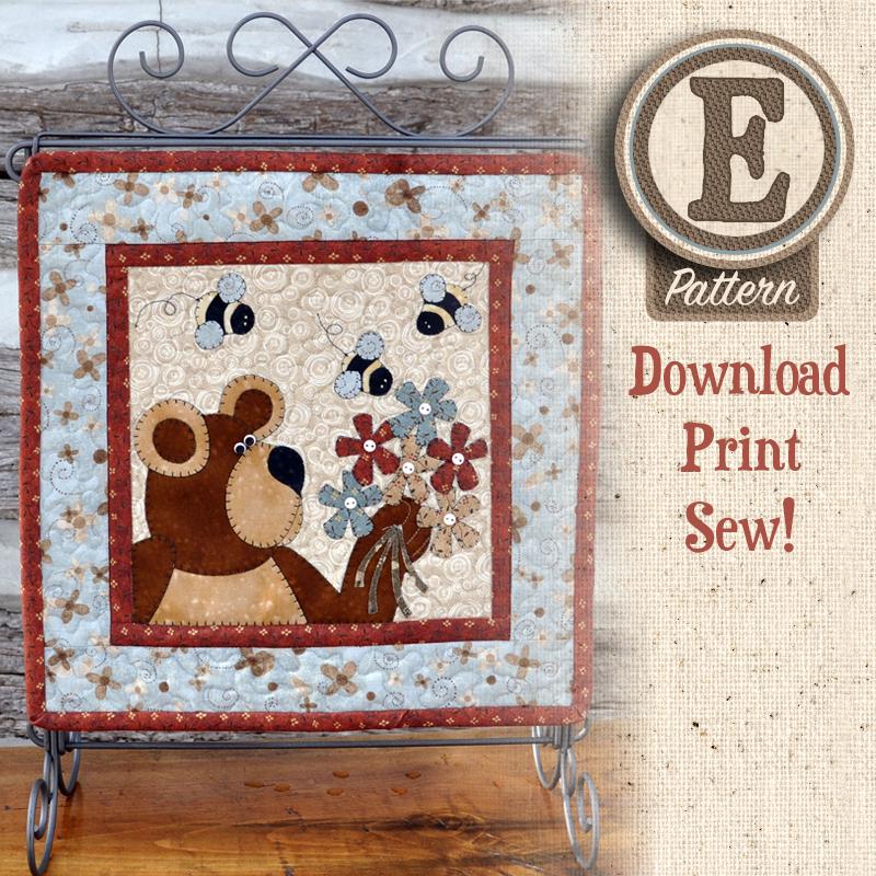 (TWB-ES22)   E-pattern S22 May Bear & Bees