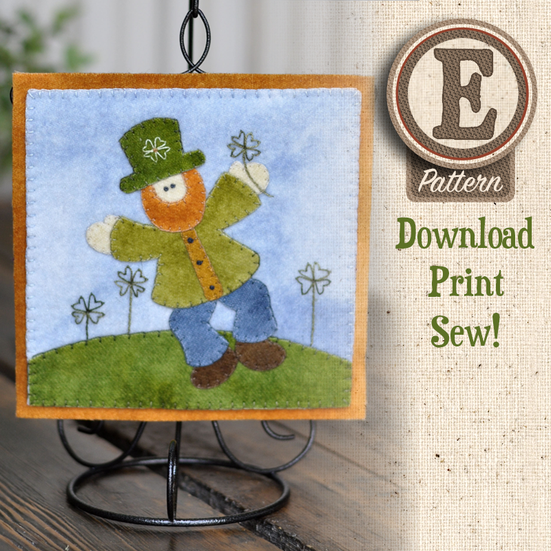 (TWB-EW03)   E-pattern W03 March Leprechaun