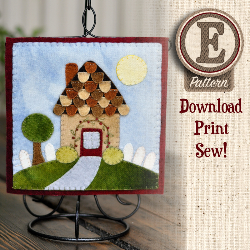 (TWB-EW05)   E-pattern W05 May Cottage