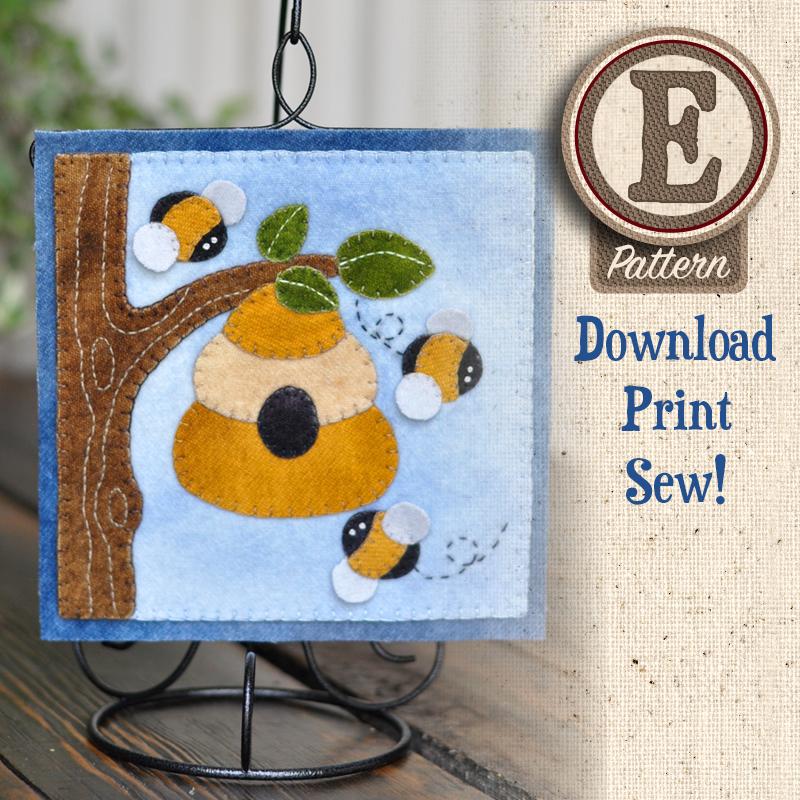 (TWB-EW06)   E-pattern W06 June Beehive