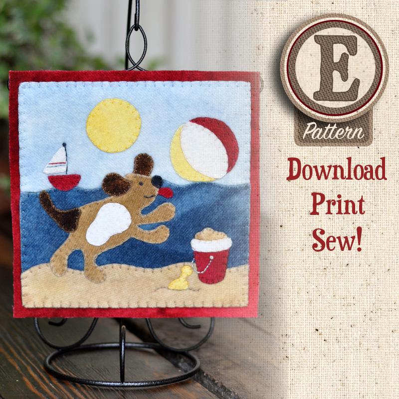 (TWB-EW08)   E-pattern W08 August Beach Puppy