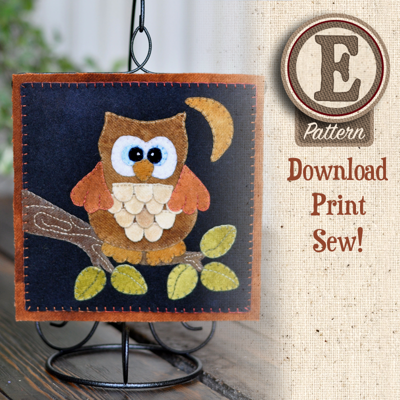 (TWB-EW09)   E-pattern W09 September Owl