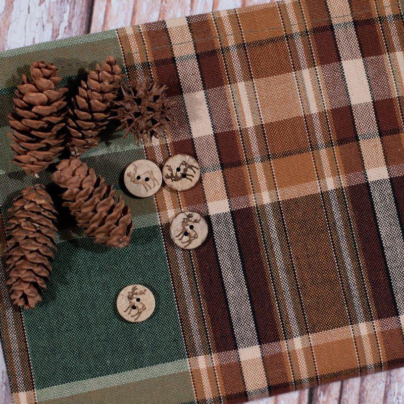 (PRK-474-10)   Wood River Tea Towel