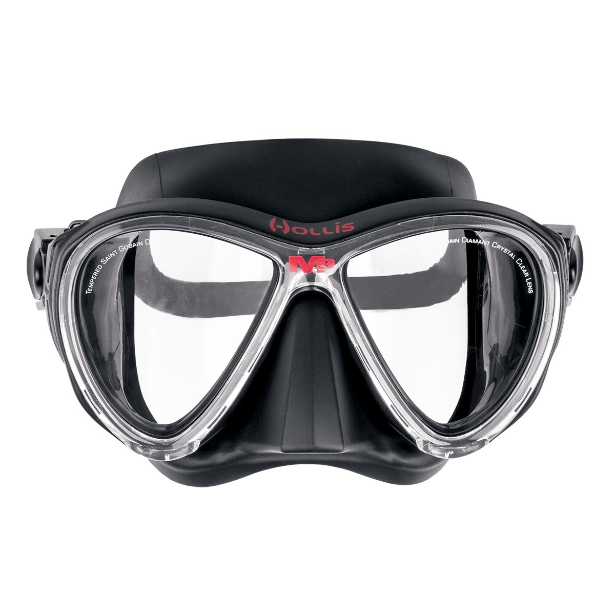 Hollis M3 Mask with GoPro Clip