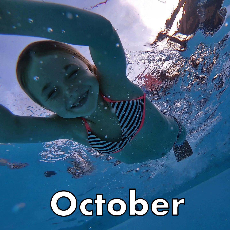 October Swim Lessons