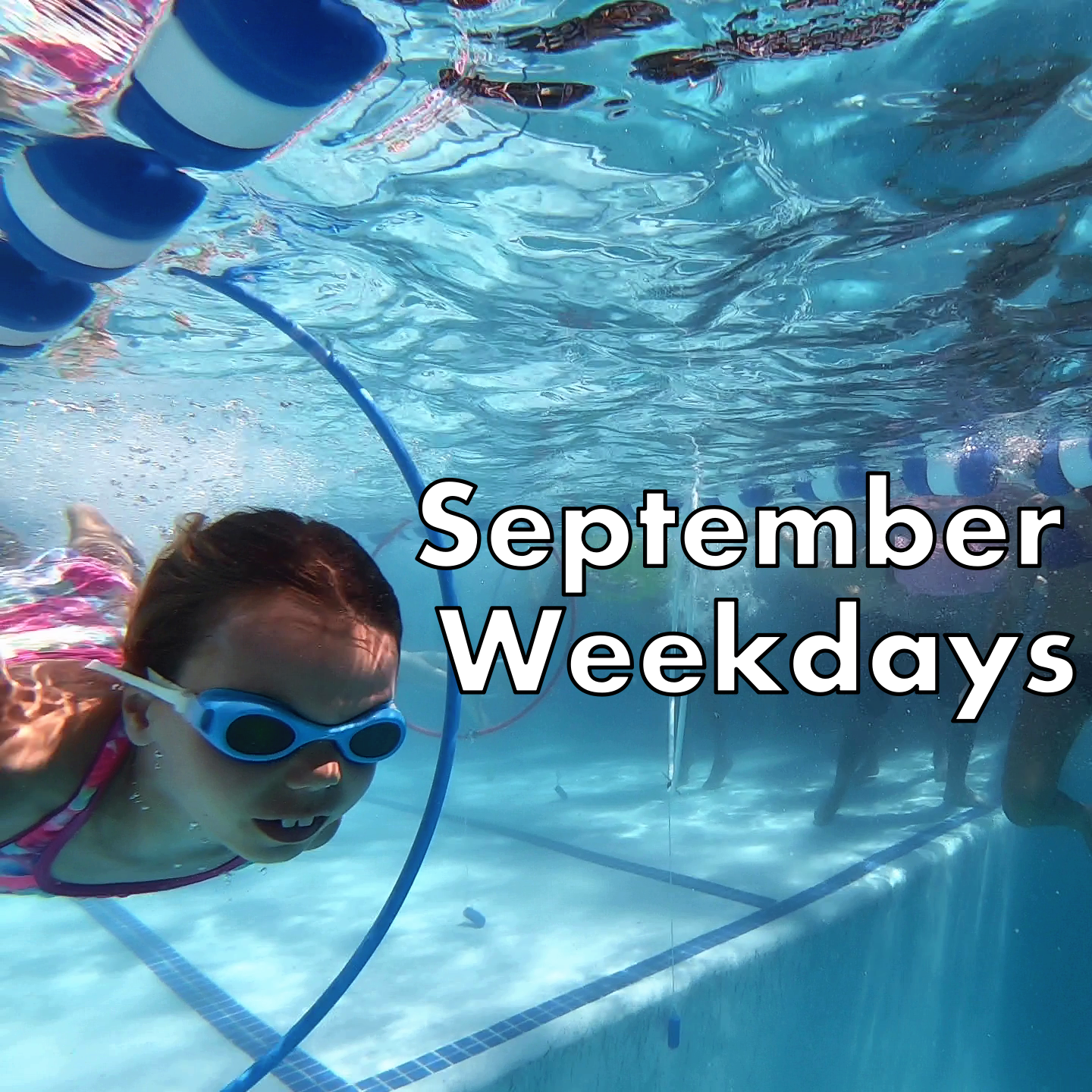 September Weekday Swim Lessons