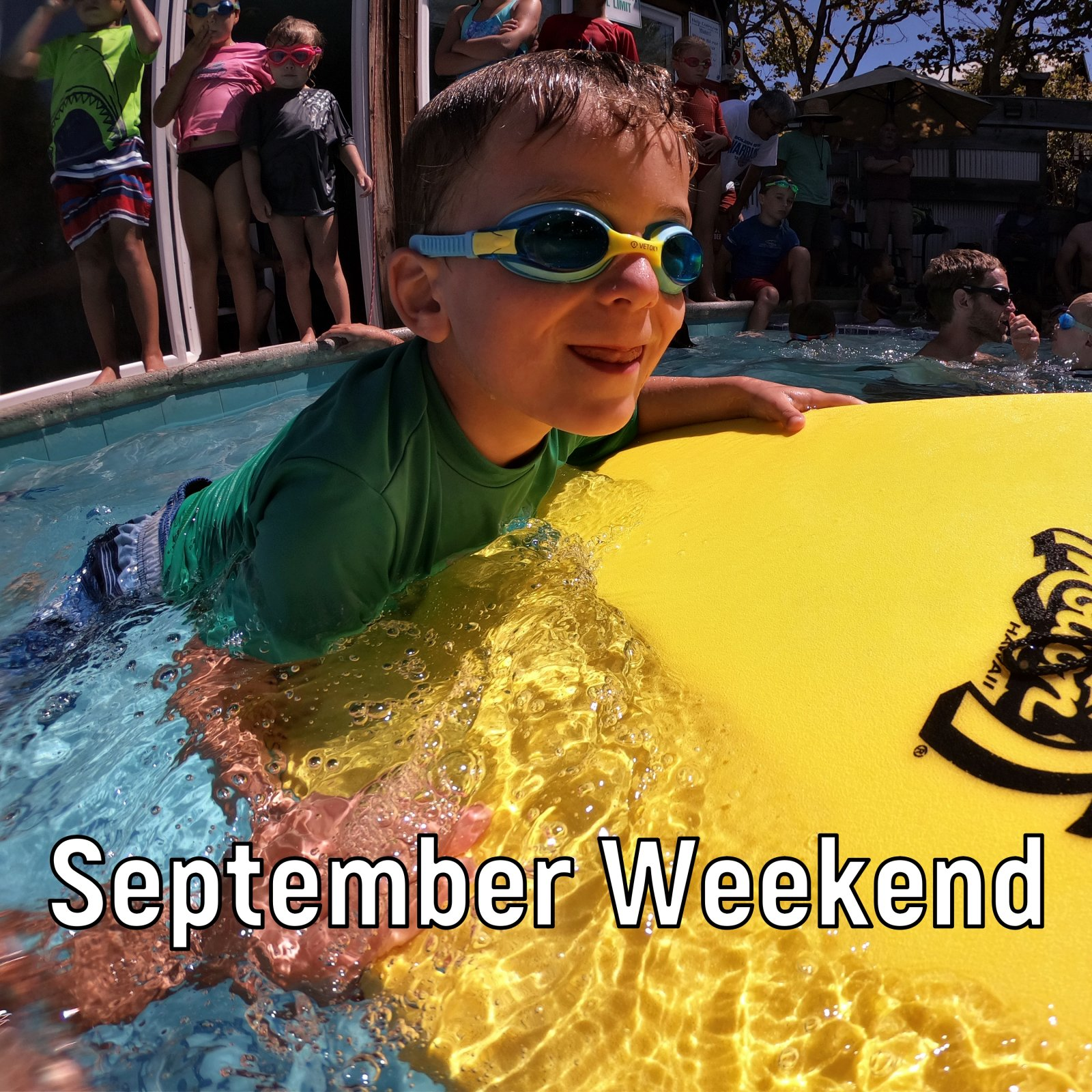 September Weekend Swim Lessons