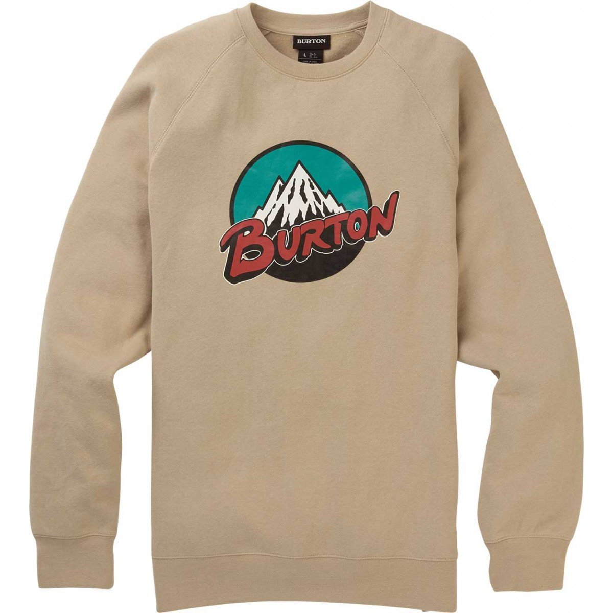 Men's Burton Retro Mountain Crew Sweatshirt