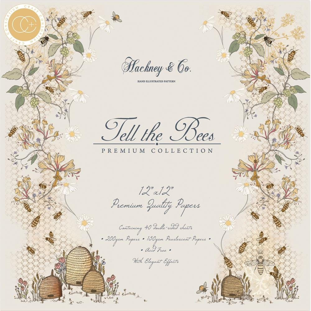TELL THE BEES PAPER PAD*