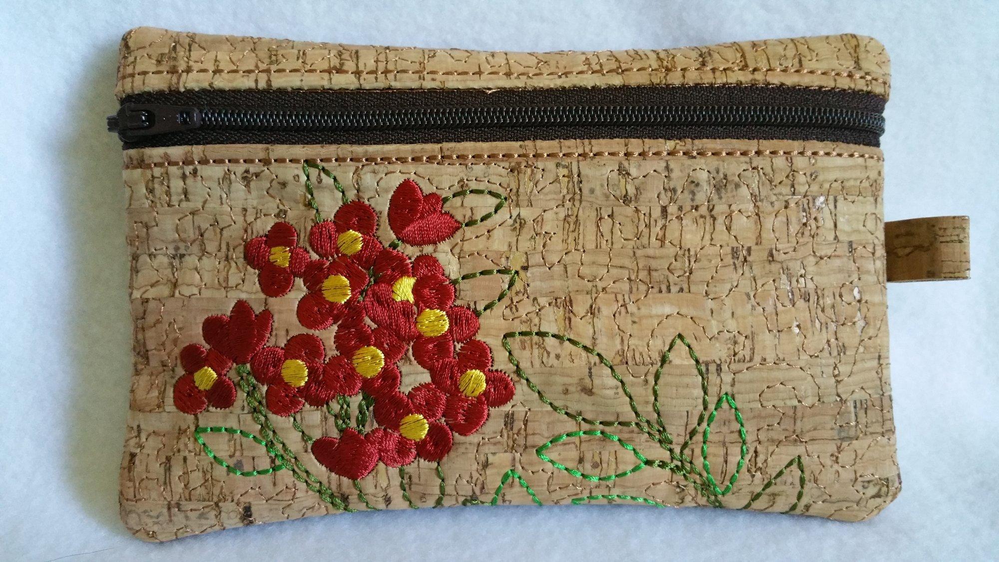 Floral Zippered Bag 2