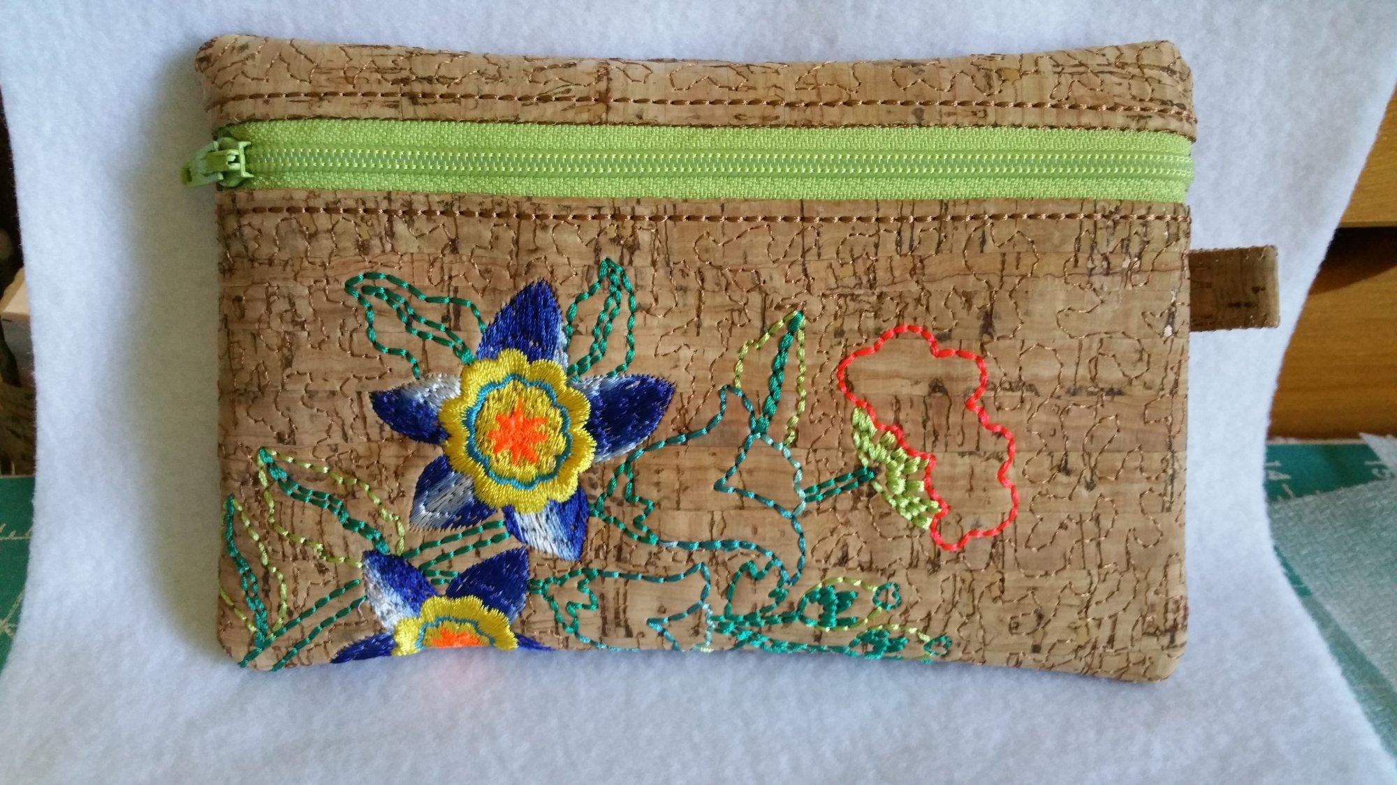 Floral Zippered Bag 5