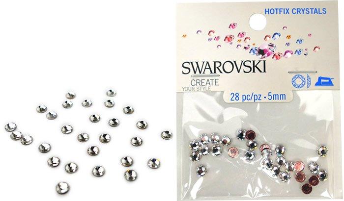 5 mm, 2078 SS 20 Crystal A HF, Swarovski Hotfix Crystals