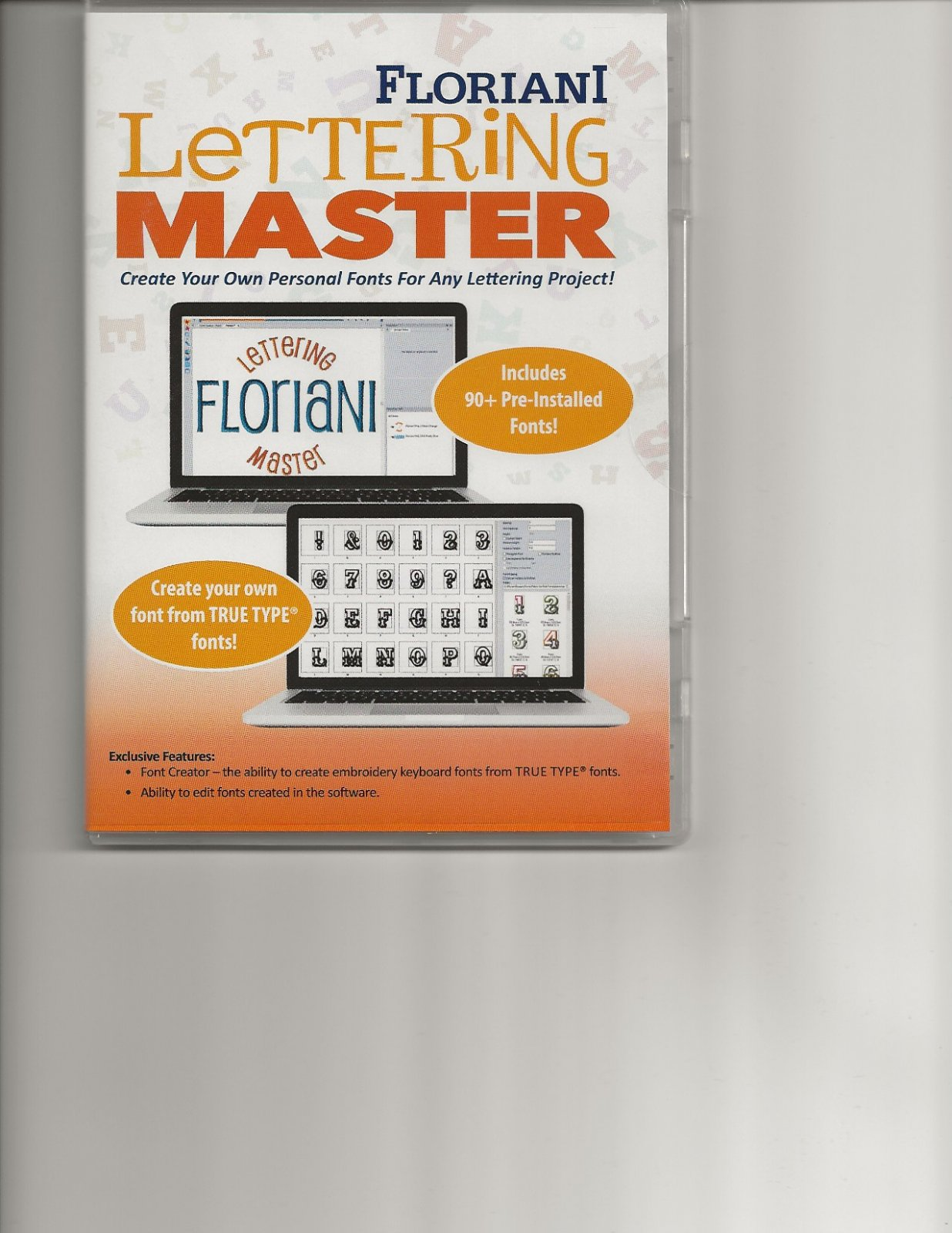 Floriani Lettering Master Software