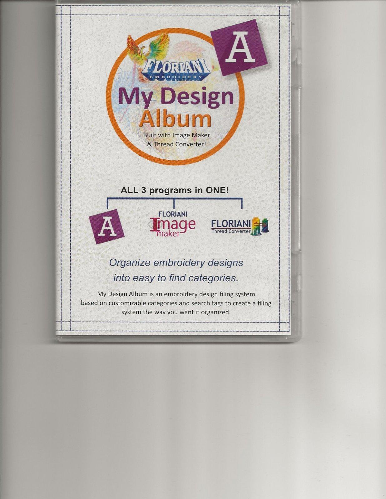 Floriani My Design Album Software