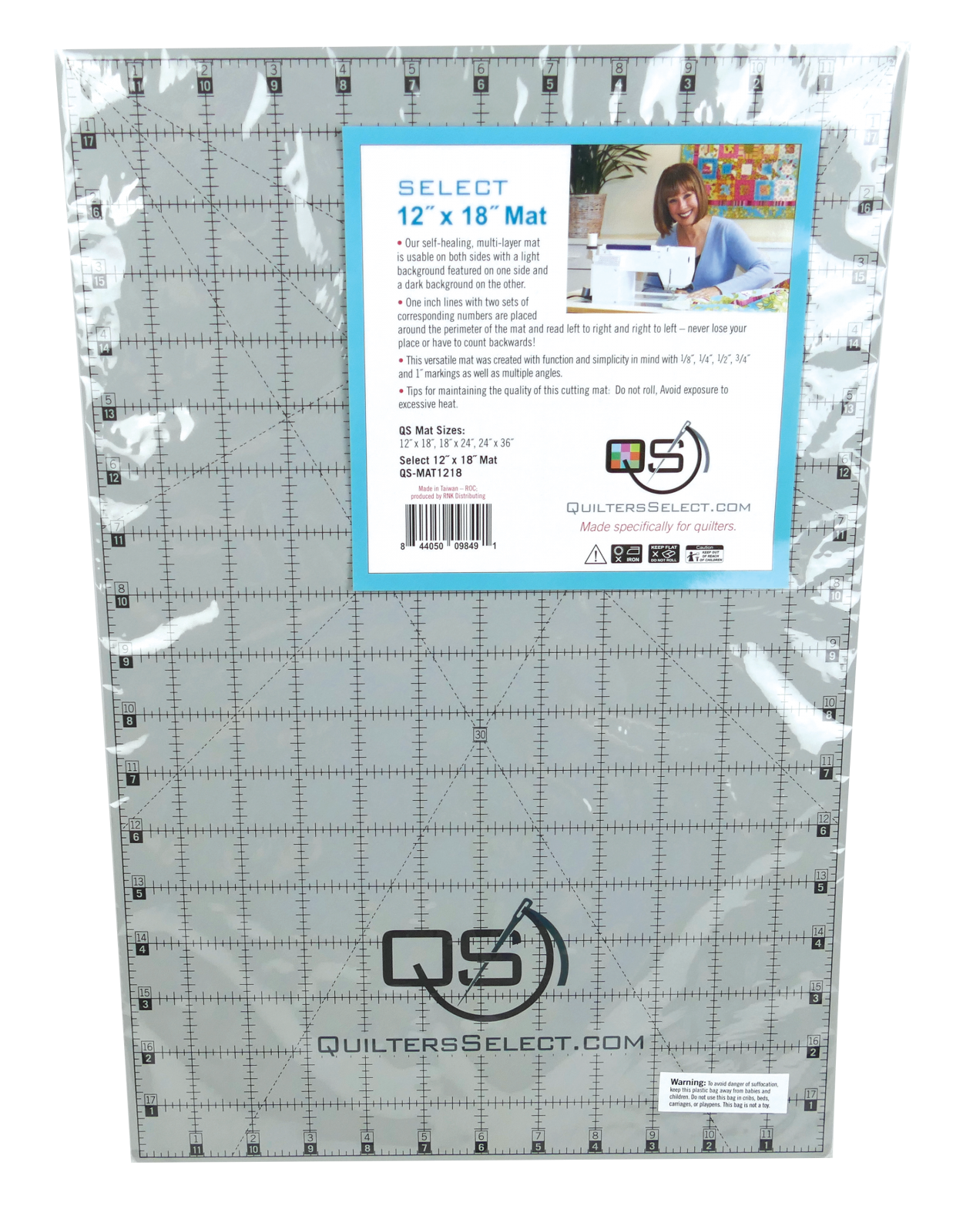 QS Select Dual Side Cutting Mat 12 x 18