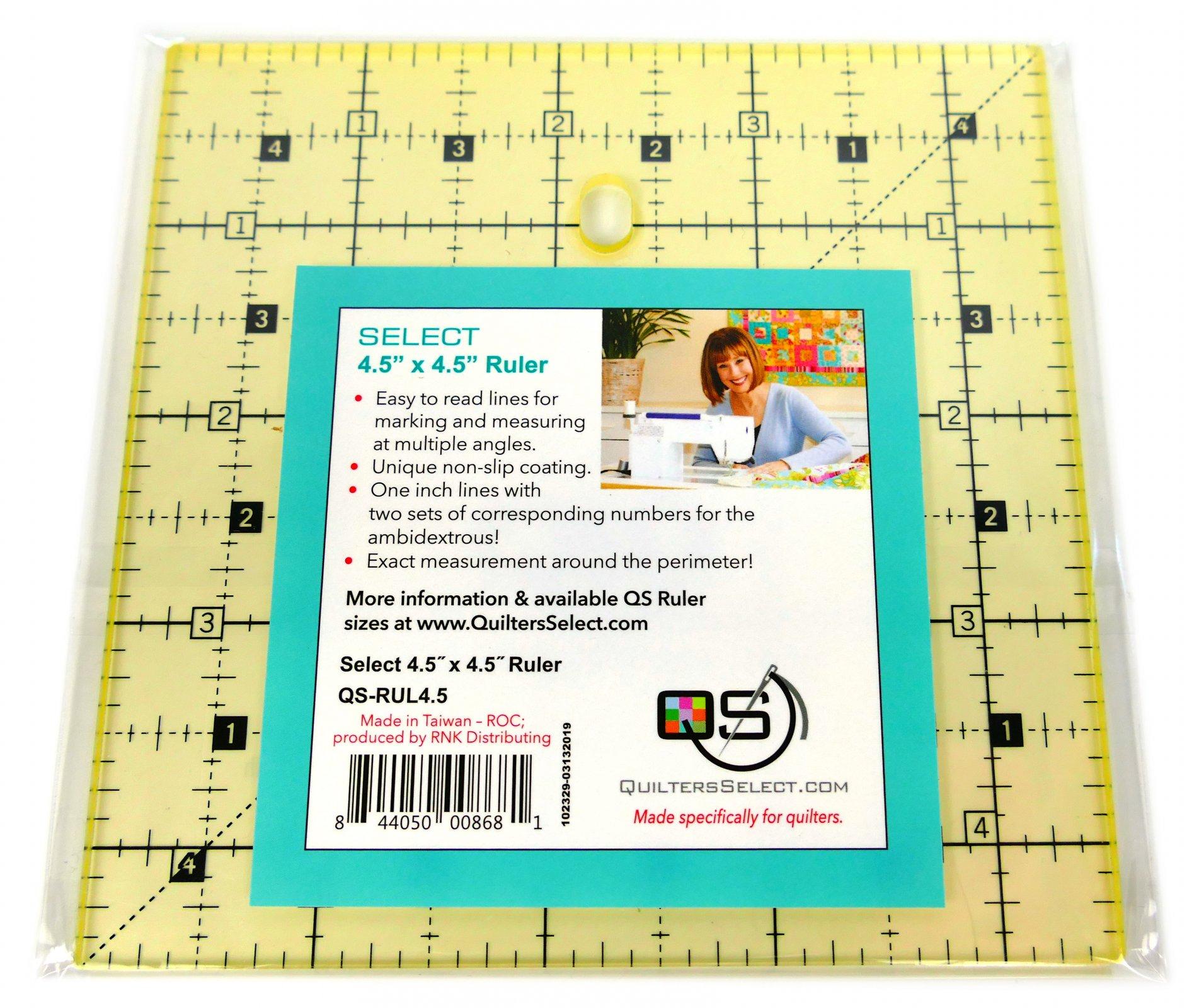 QS Select 4.5 x 4.5 Non-Slip Ruler