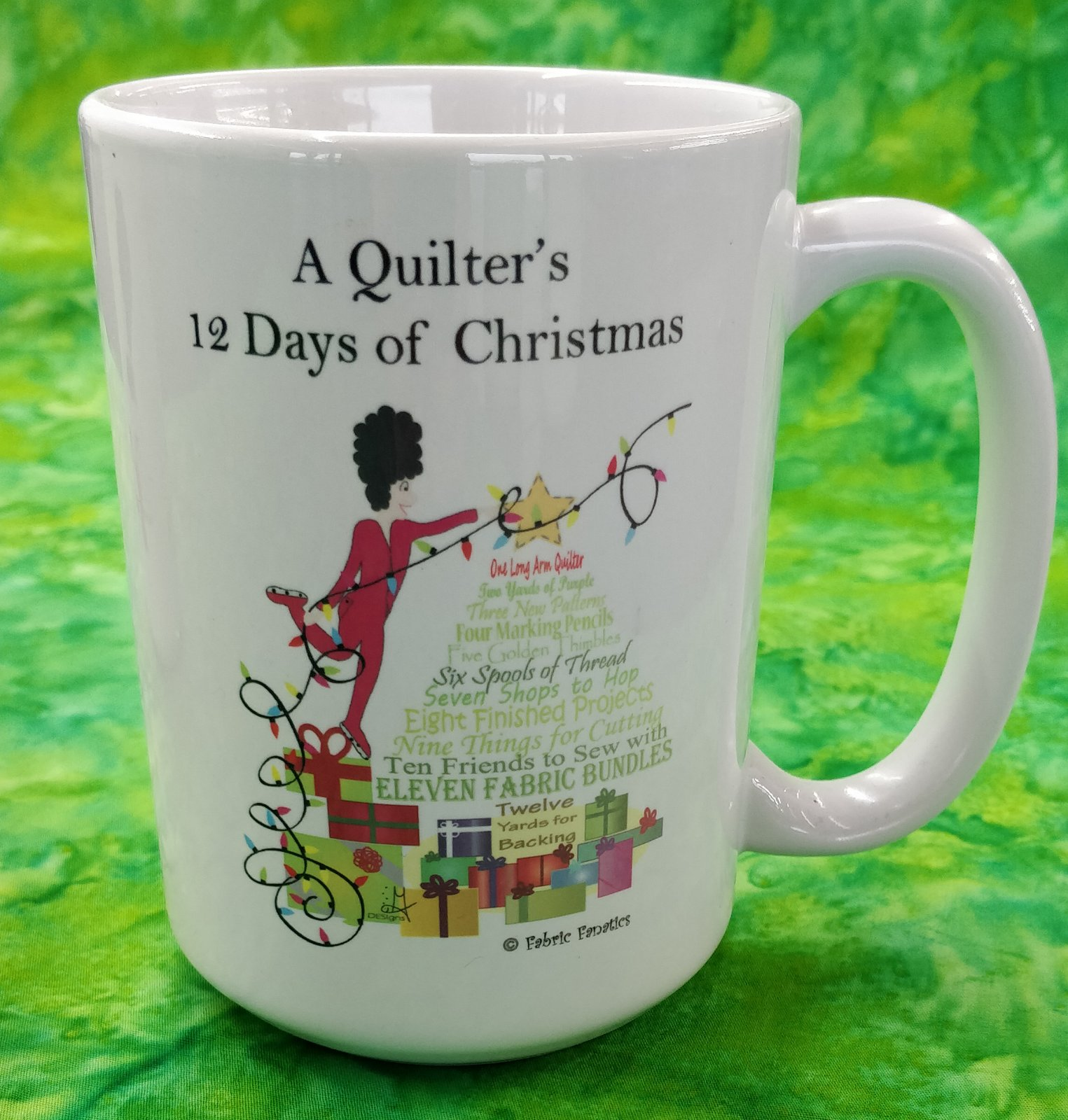Mug - 12 Days of Quilters Christmas - in store or curbside