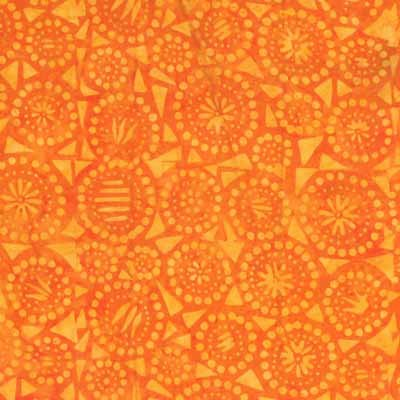 Wilmington Batiks 22151-885 Orange