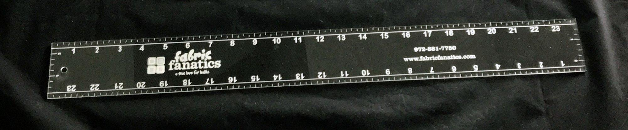 24 x 2.5 Ruler