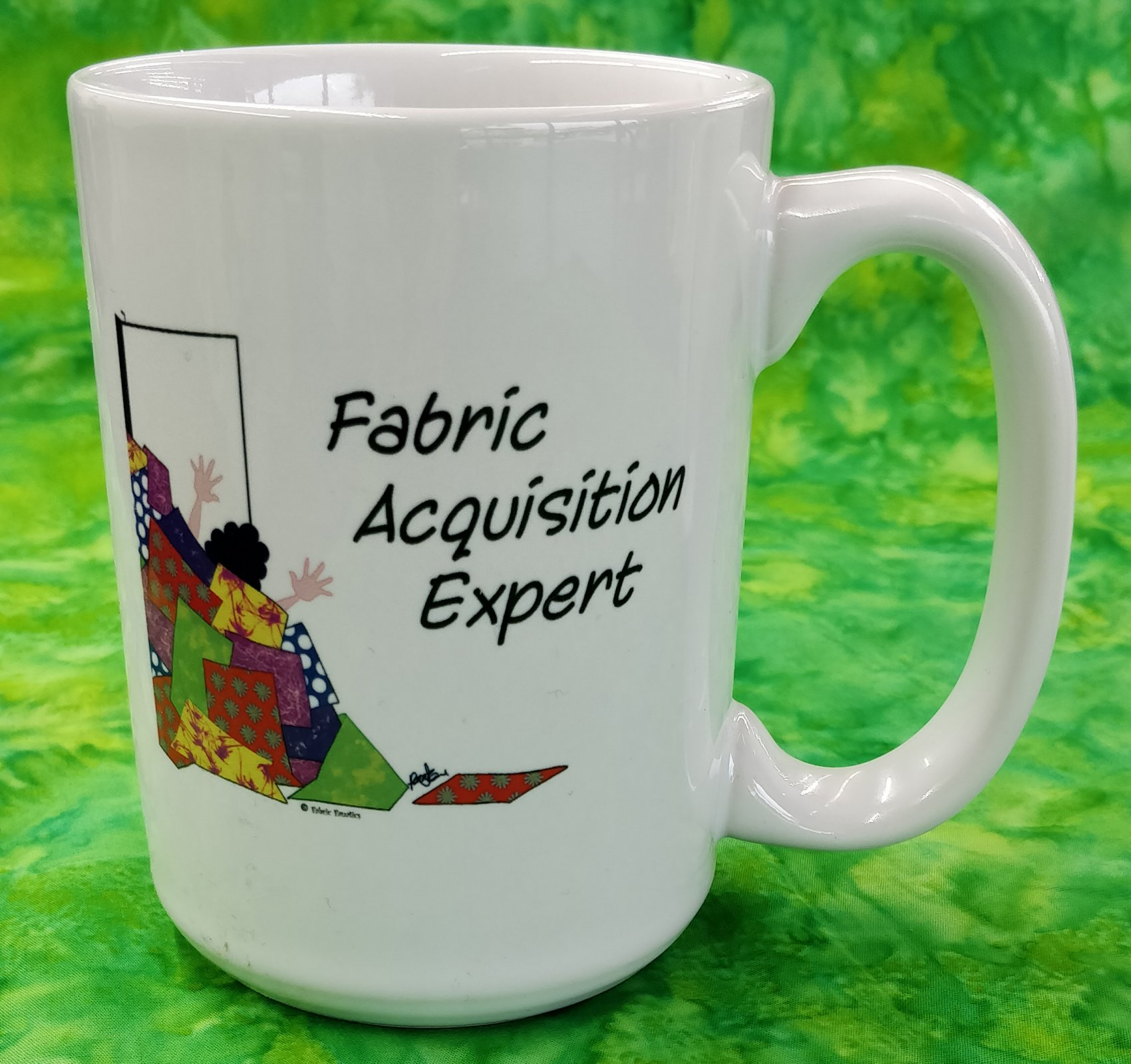 Mug - Fabric Aquisition Expert - #1 - in store or curbside
