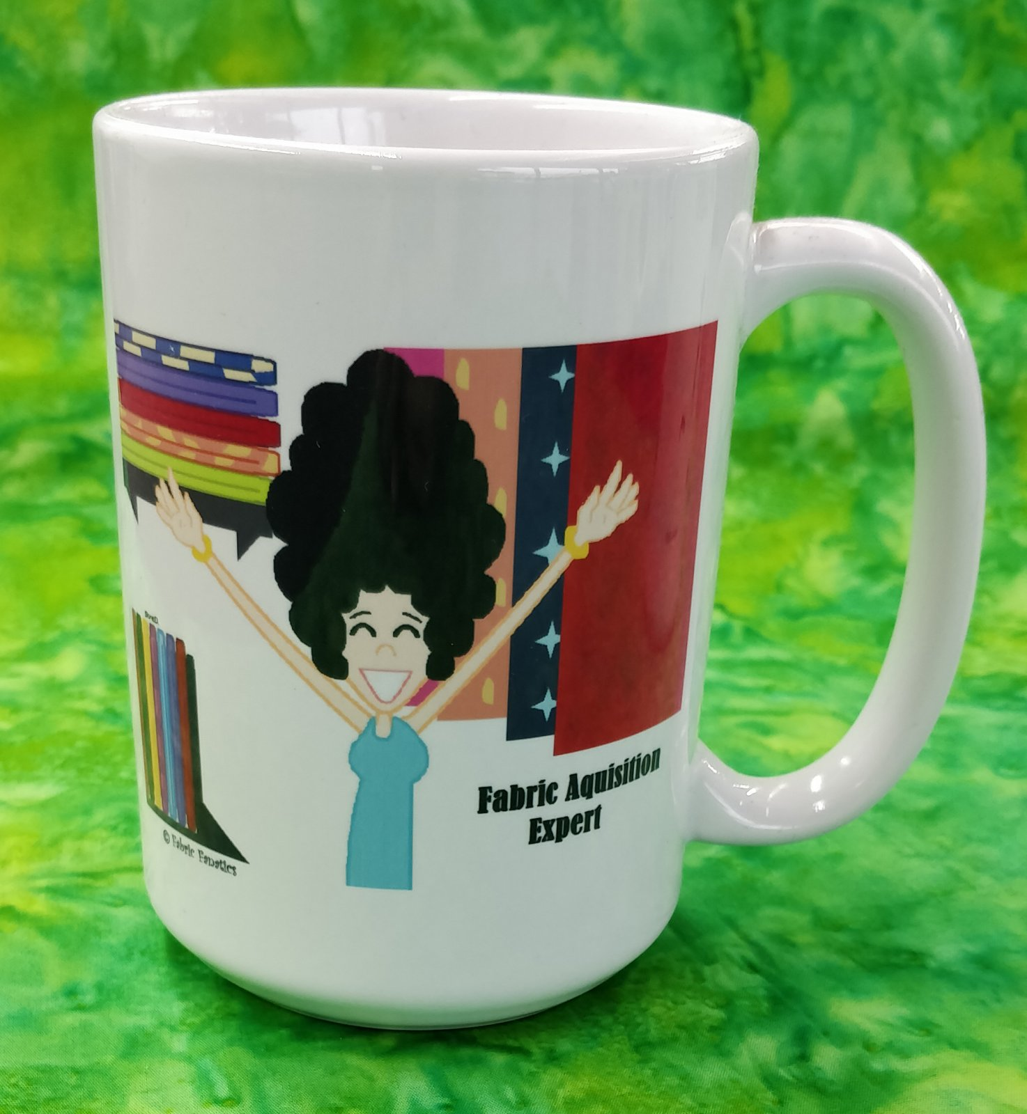 Mug - Fabric Aquisition Expert - #2 - in store or curbside