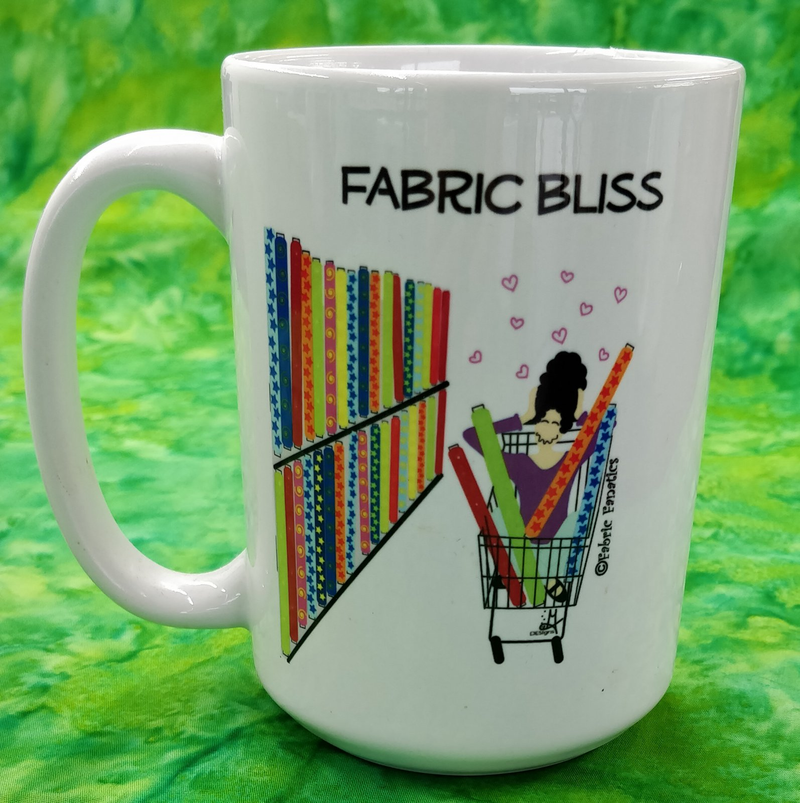 Mug - Fabric Bliss - in store or curbside