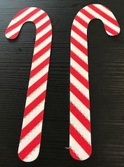 Fusible Candy Canes
