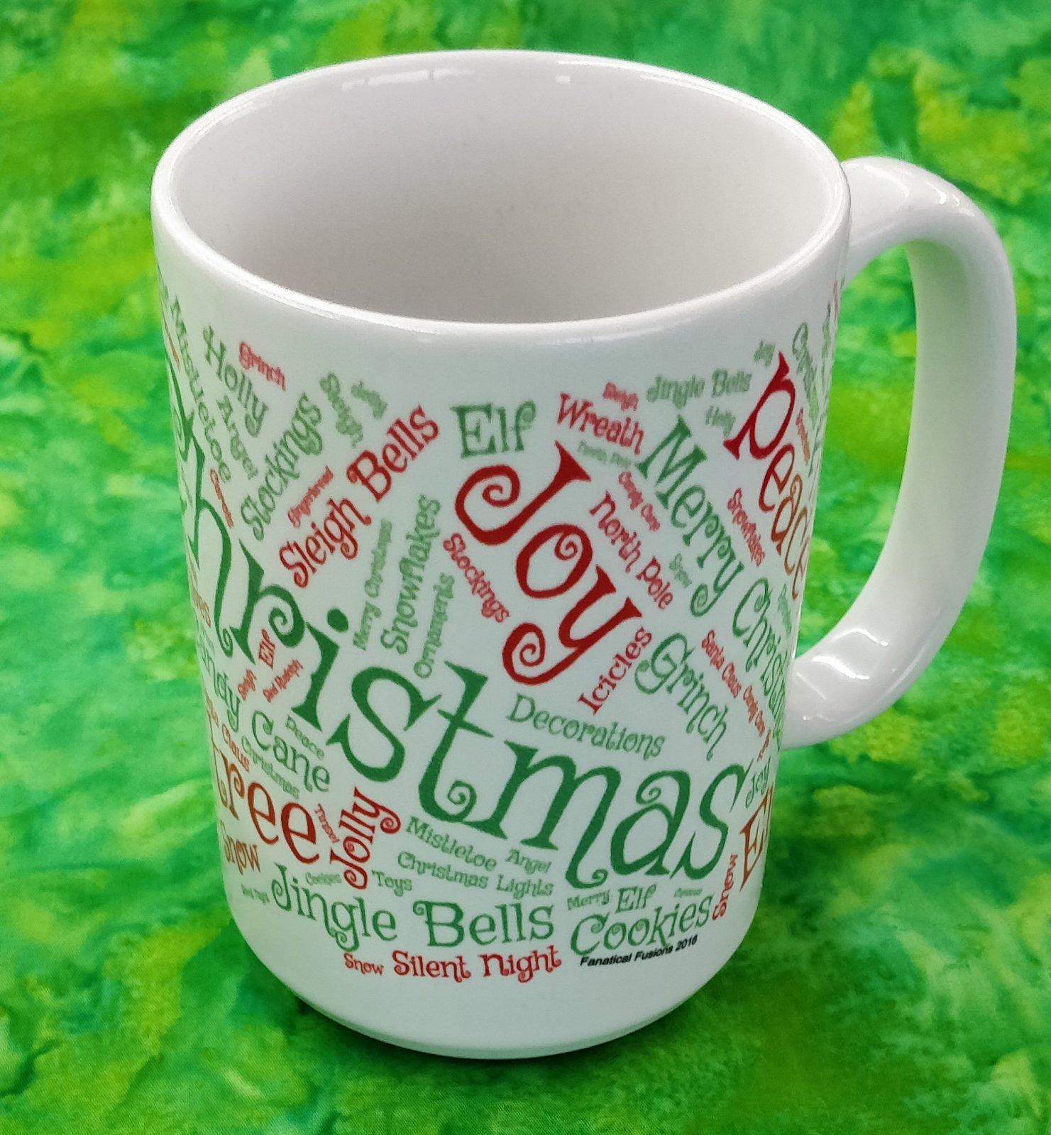 Mug - Christmas - in store or curbside