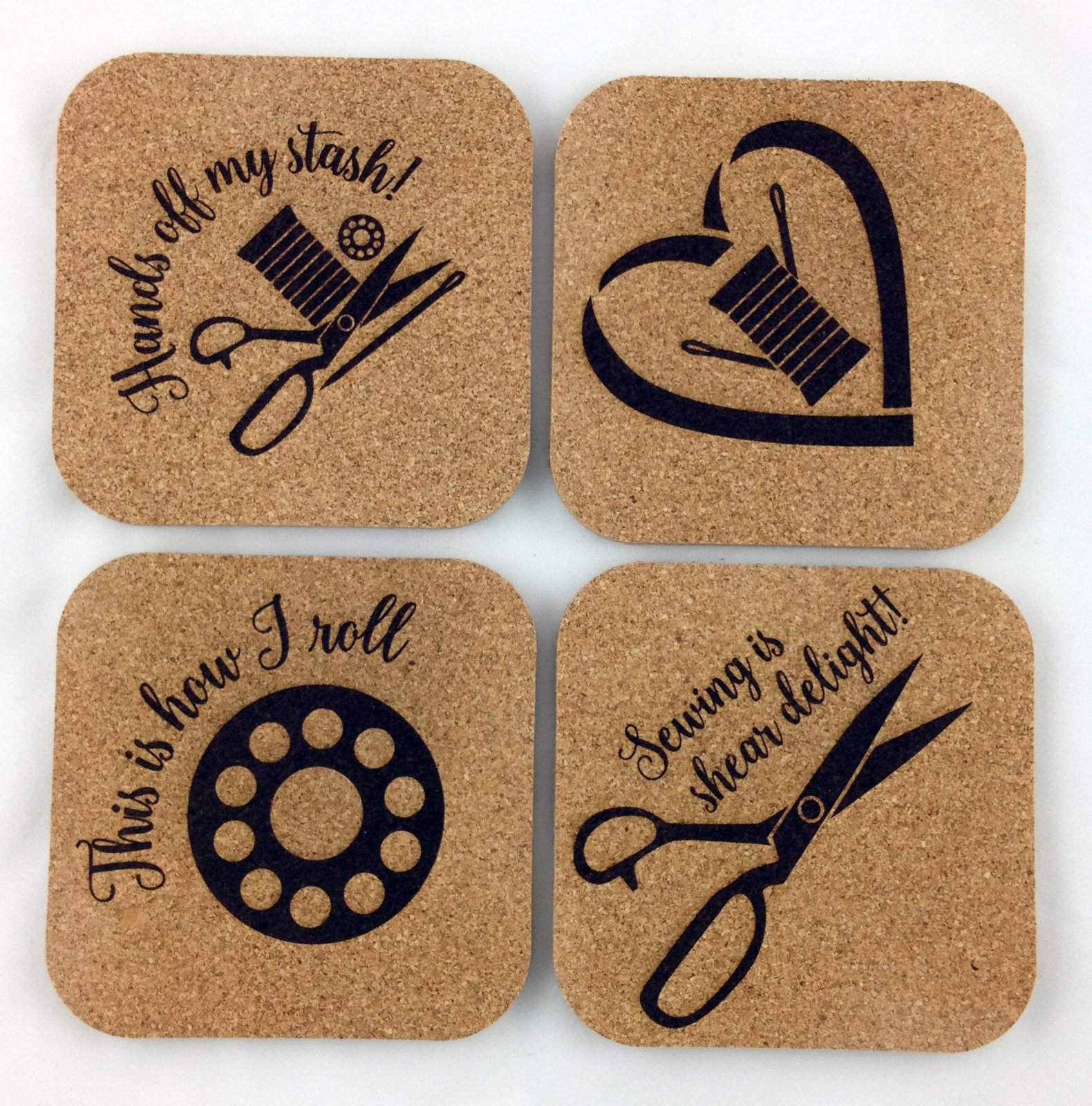 Sheer Fun Coaster Set