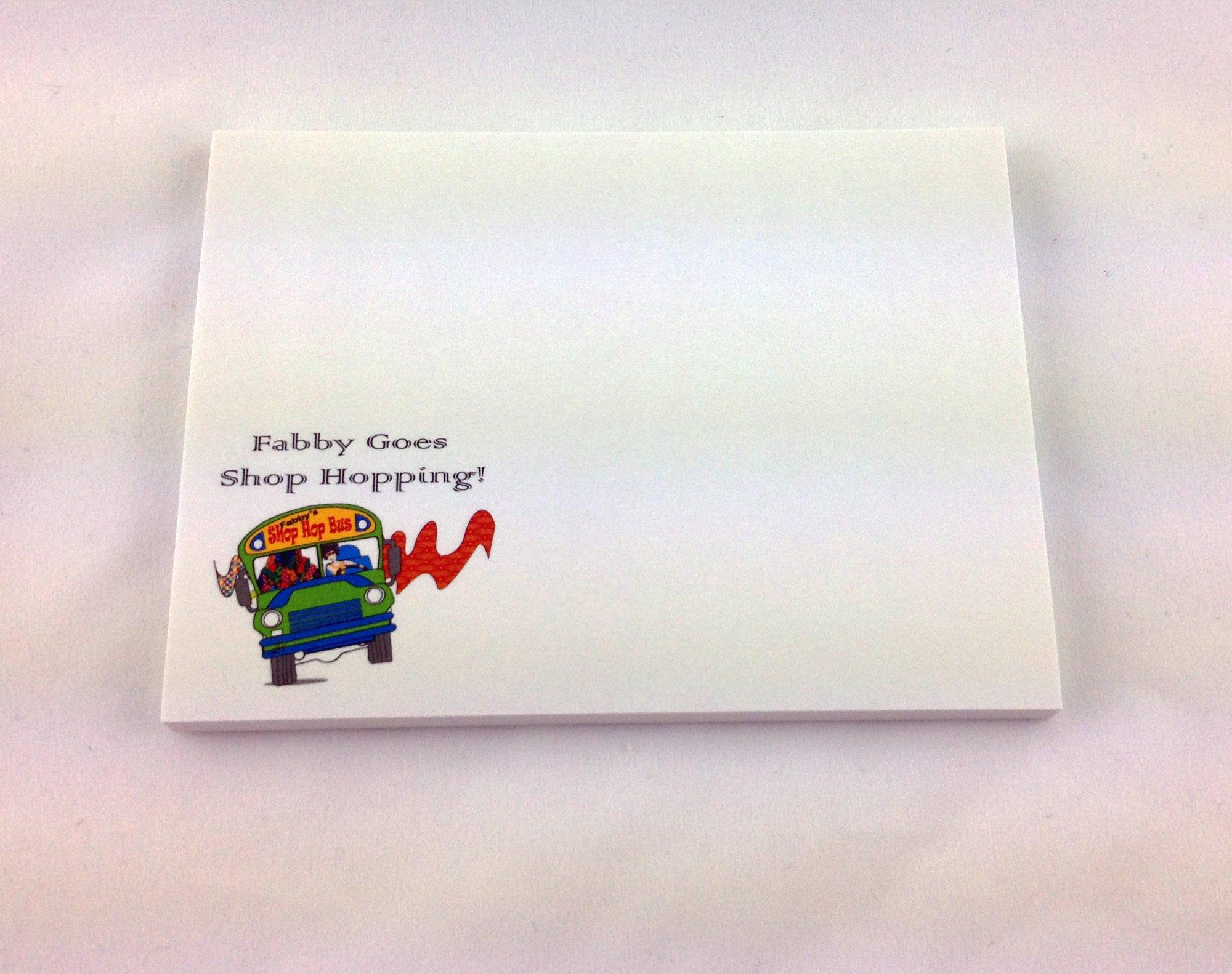 Shop Hop Sticky Note