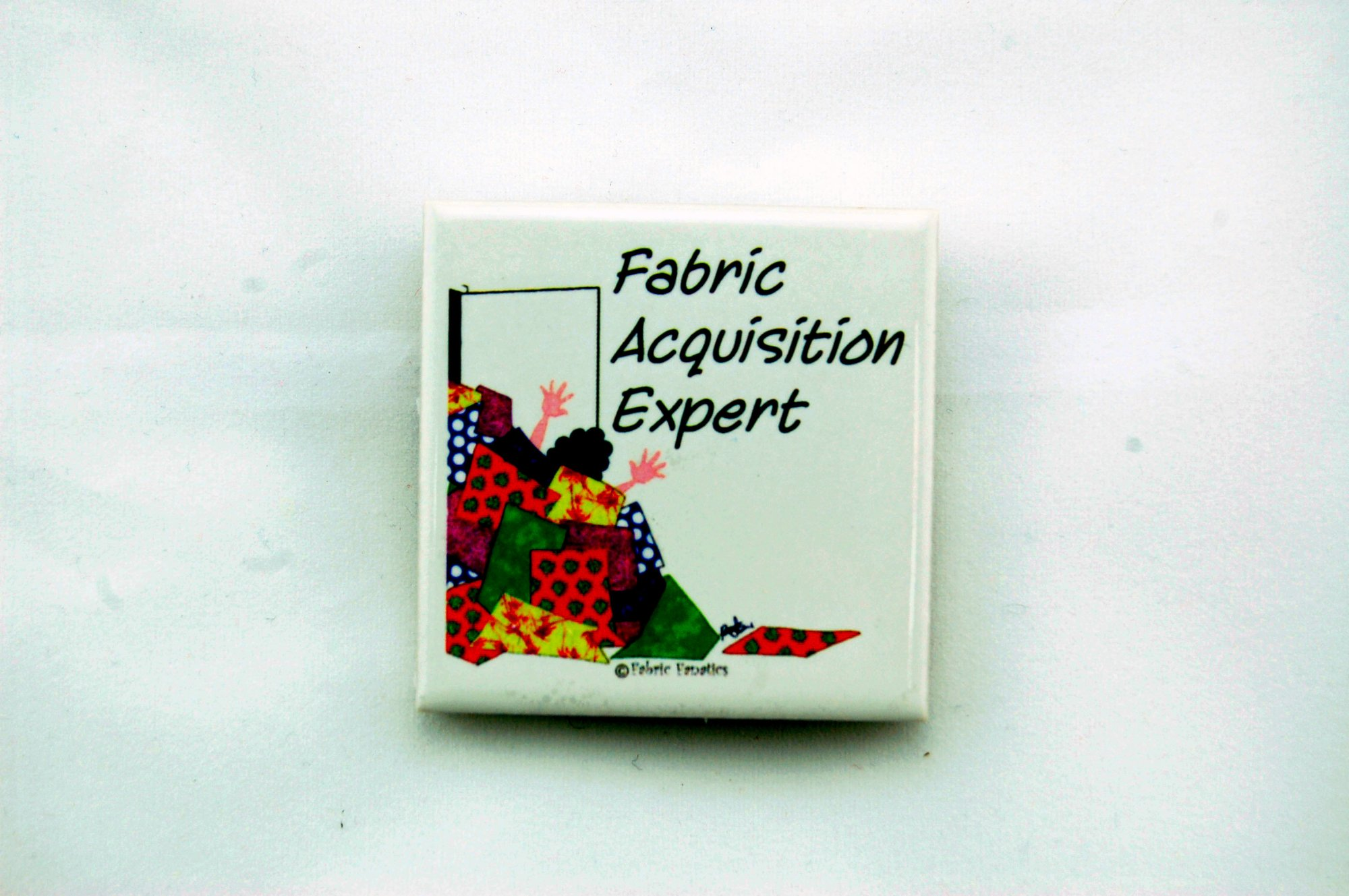 Fabric Acquisition Expert Magnet