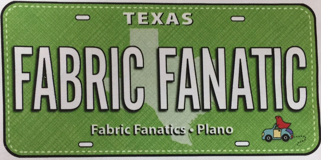 Fabric Fanatic RxR License Plates -2017
