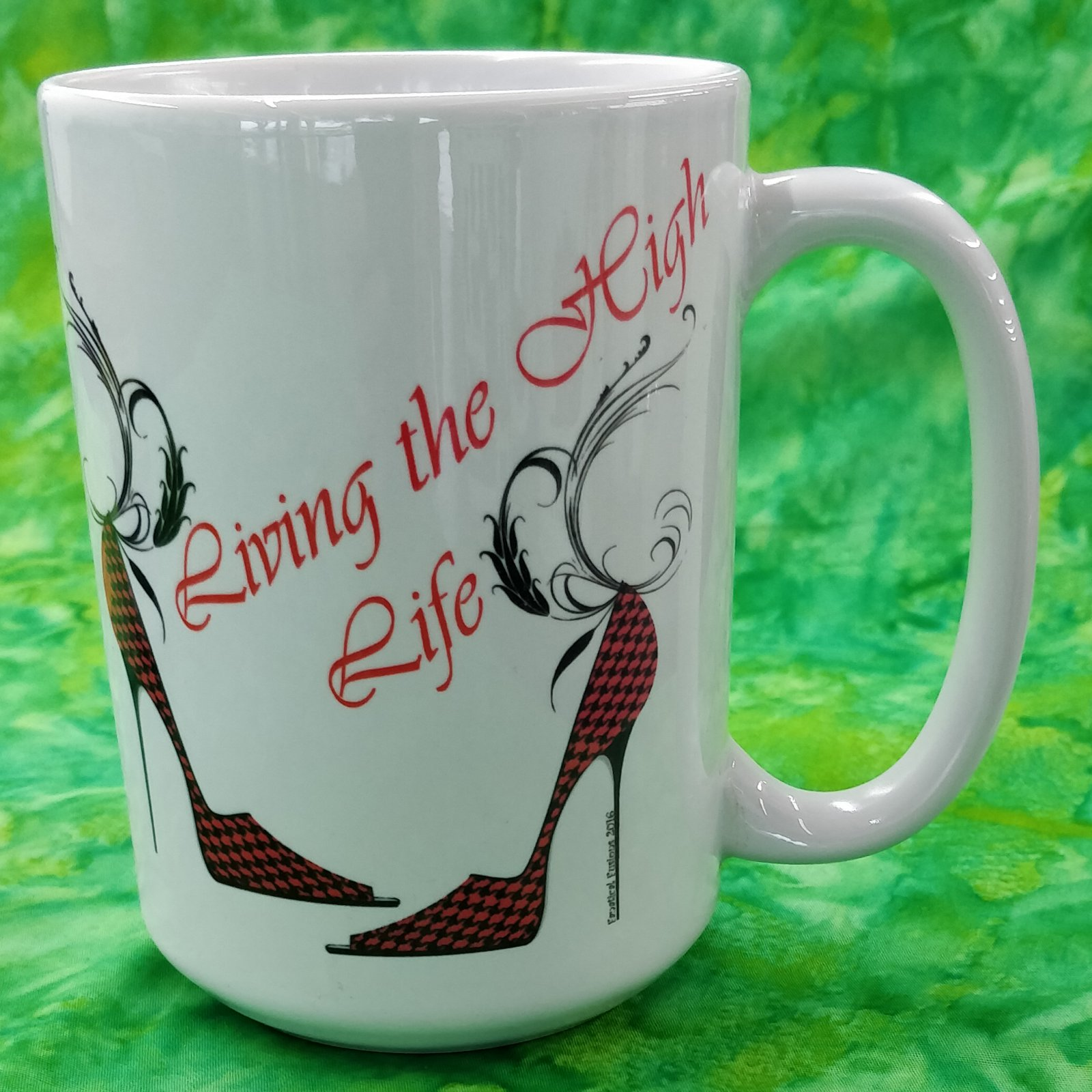 Mug - Living the High Life - in store or curbside