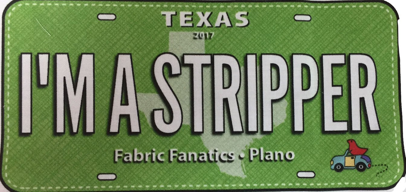 I'm A Stripper RxR License Plates -2017