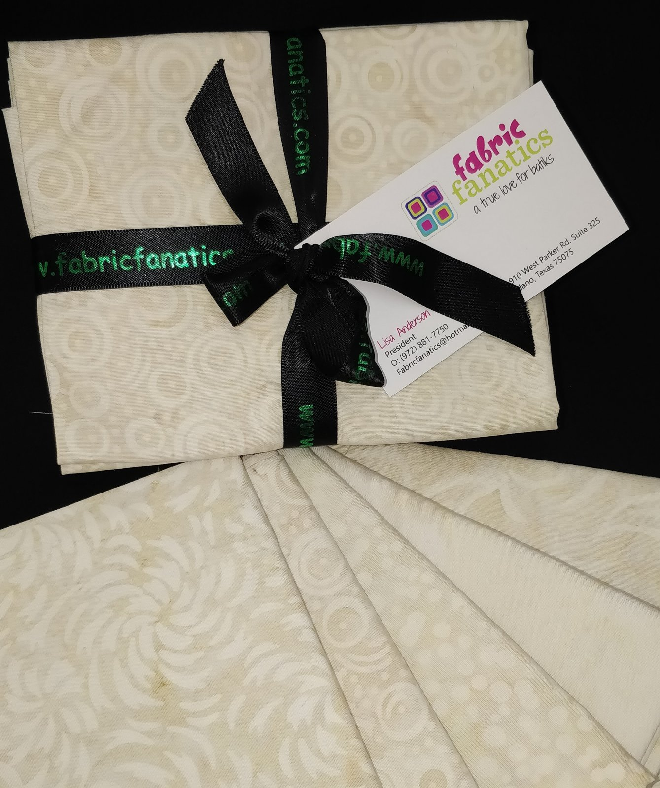 Vanilla Latte Fat Quarter Bundle - 6 fabrics
