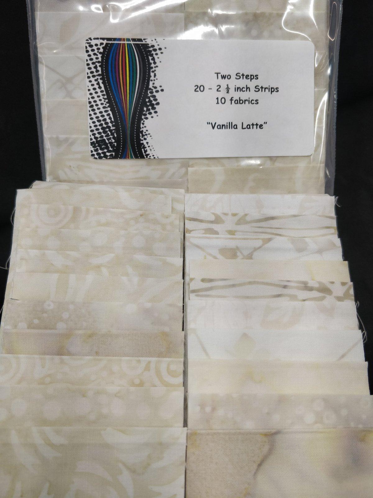Vanilla Latte Two Steps Mini Strip Pack