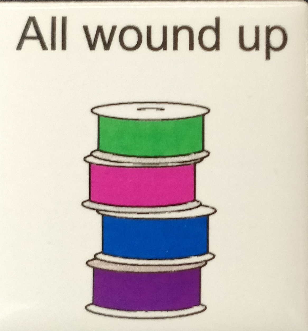 All Wound Up Magnet