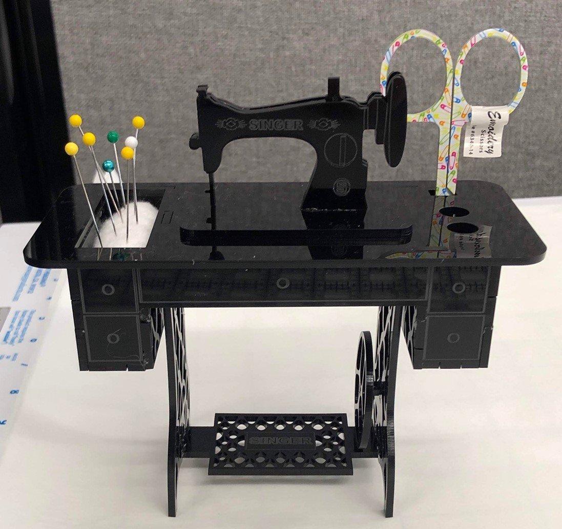 Black Acryllic Sewing Machine