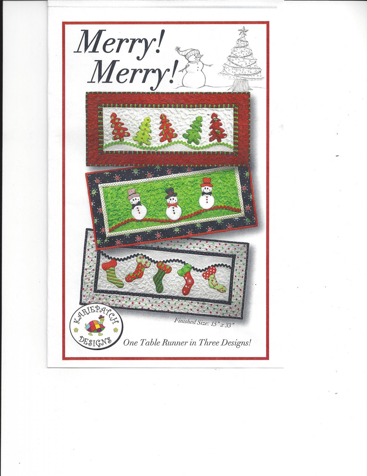 Merry! Merry! Fusible Stockings