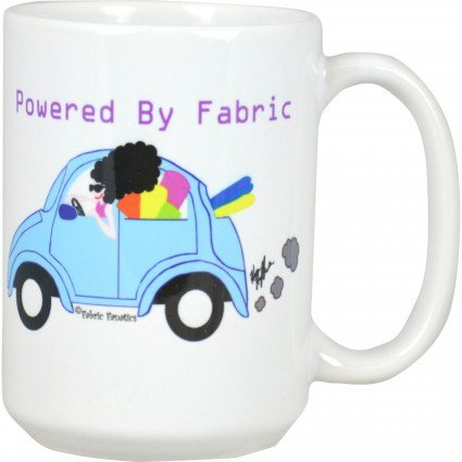 Mug- Powered By Fabric