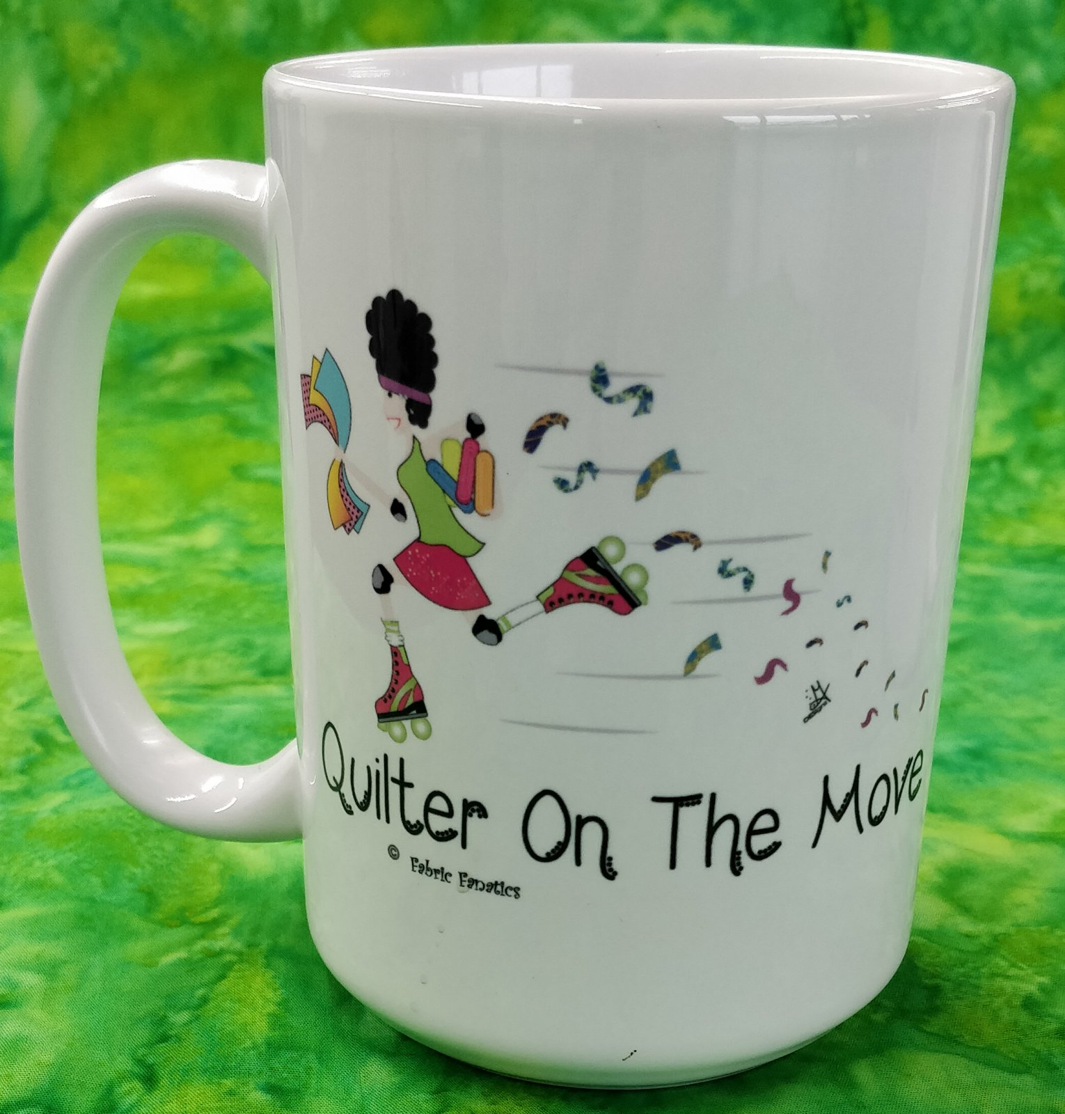 Mug - Quilter on the Move - in store or curbside