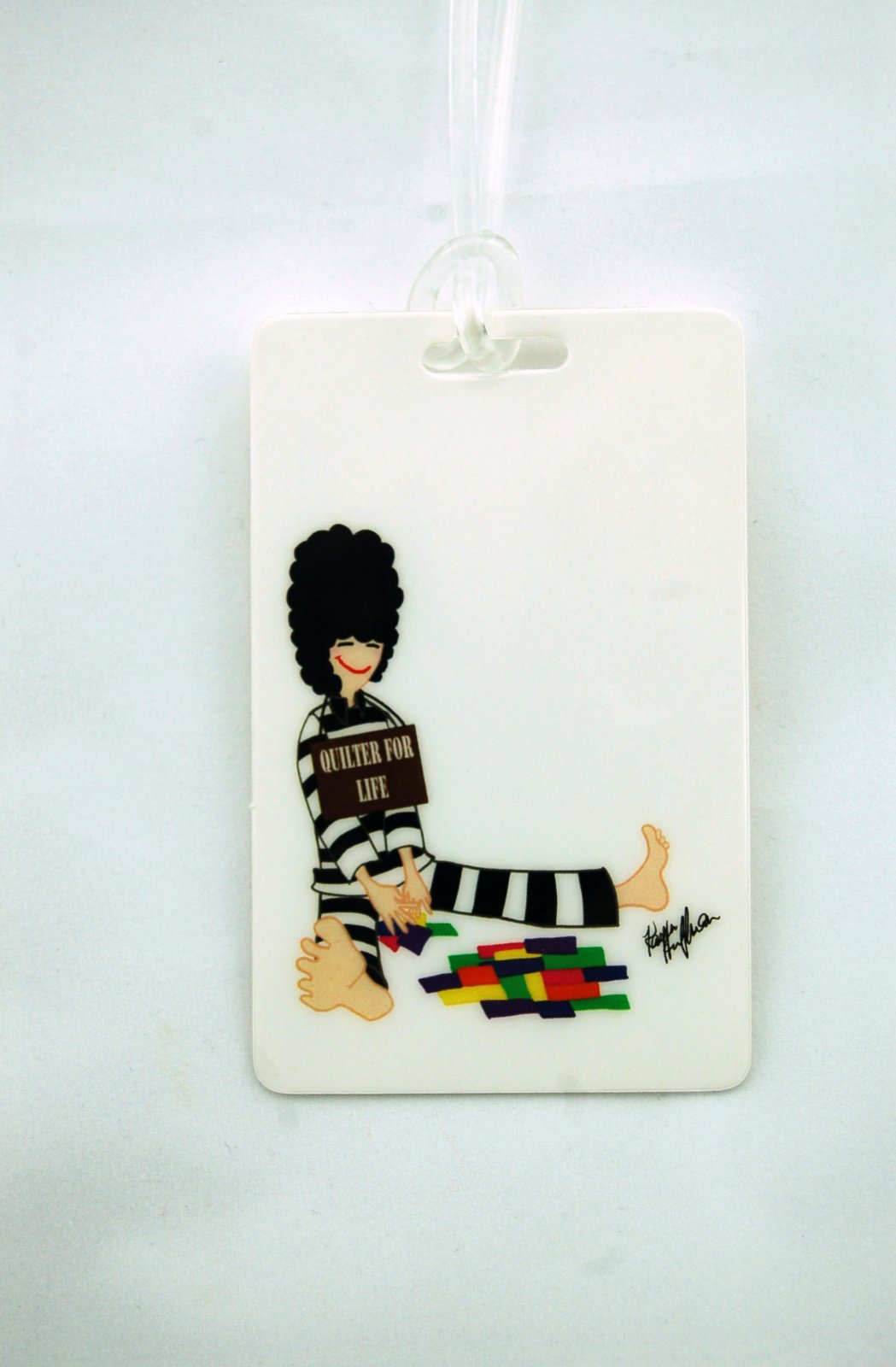 Quilter 4 Life Luggage Tag