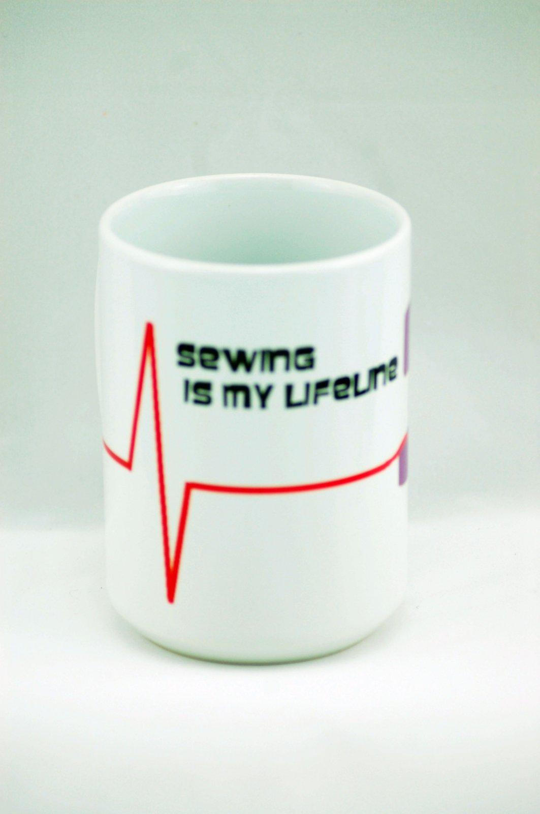 Mug-Sewing is My Lifeline