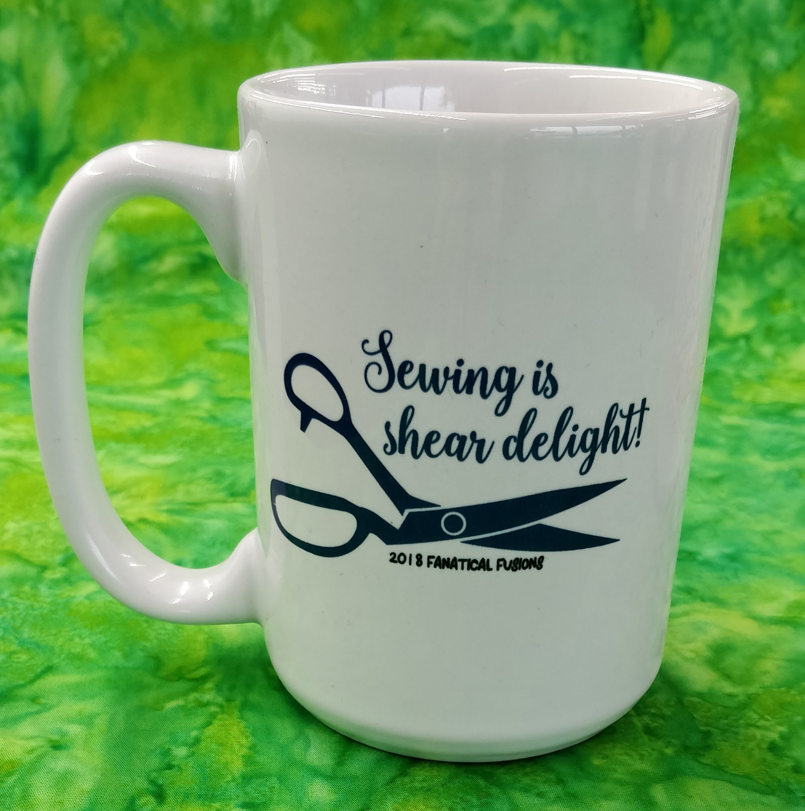 Mug - Sewing is Shear Delight - in store or curbside