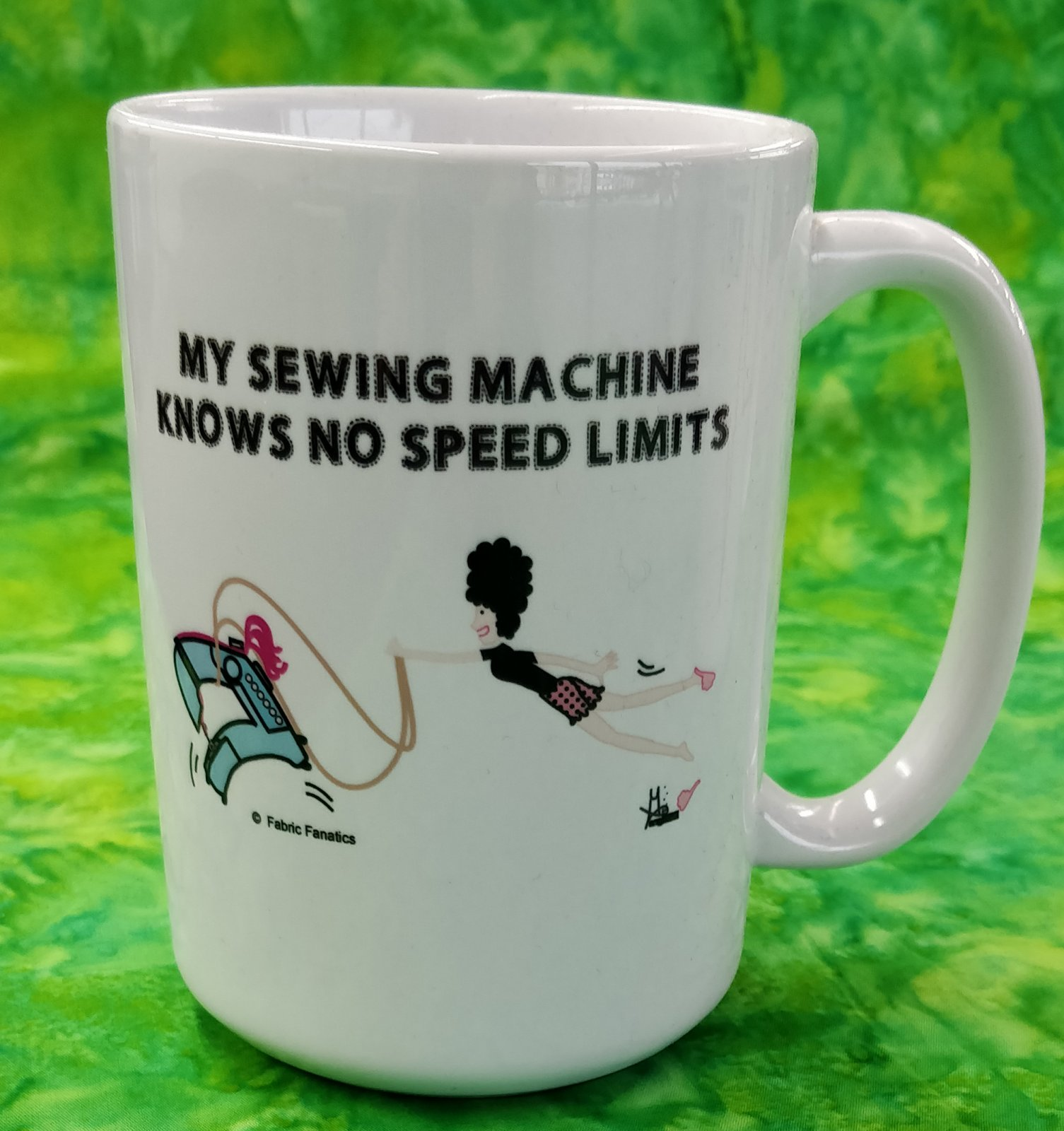 Mug - My Sewing Machine Knows No Limits - in store or curbside