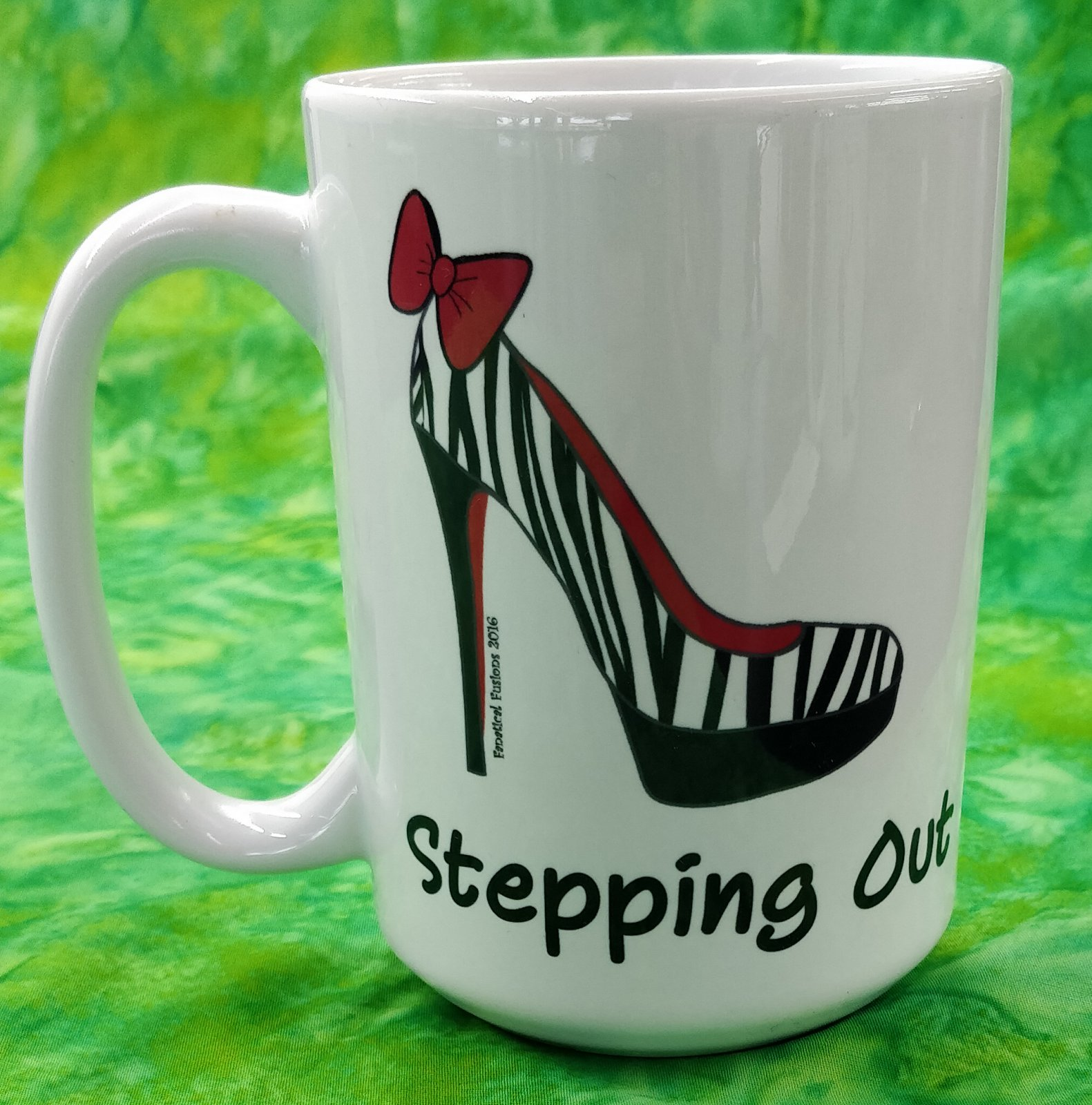 Mug - Stepping Out - in store or curbside
